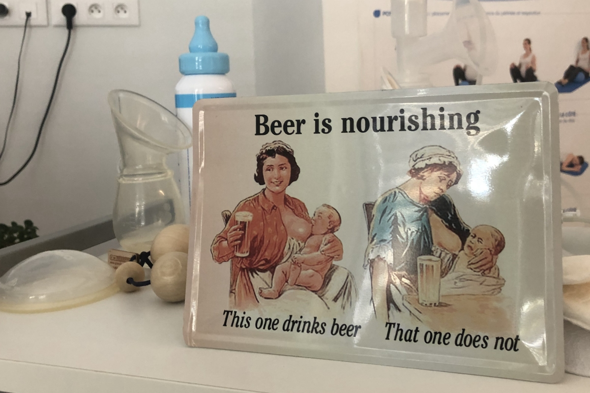 "Newsletter avec ""Beer is nourishing"""